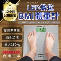 【免運費 台灣三洋 BMI體重機 原裝出貨】下殺799元 SANLUX 電子體重計 BMI 體重計 迷你體重計 磅秤 體重機 BMI體重計 電子體重機 【DE438】