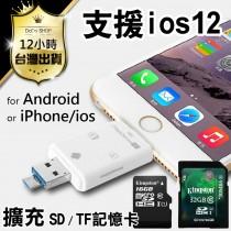【手機讀卡機 電腦也可用】支援iOS 安卓系統 iPhone 讀卡器【DG126】